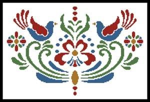 click here to view larger image of Rosemaling 4 (chart)
