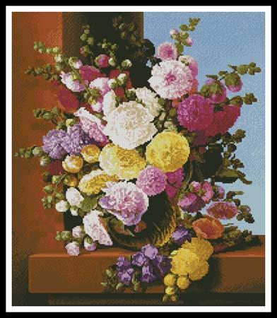 click here to view larger image of Still Life Of Flowers (chart)