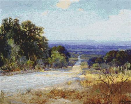 click here to view larger image of White Road At Late Afternoon, A (chart)
