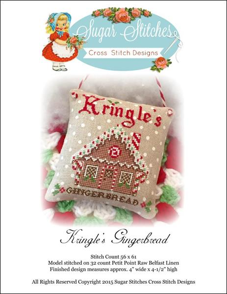 click here to view larger image of Kringles Gingerbread (chart)