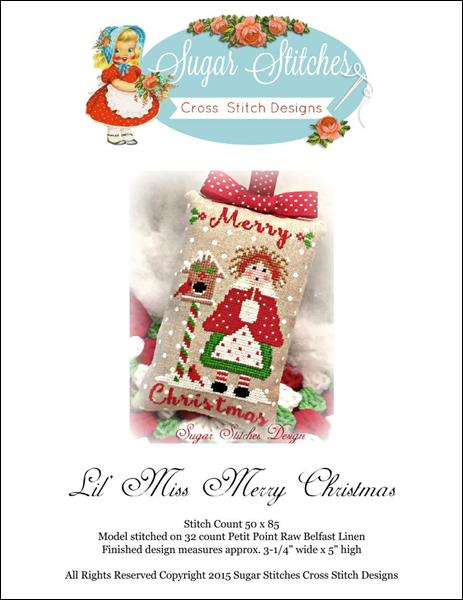 click here to view larger image of Lil Miss Merry Christmas (chart)