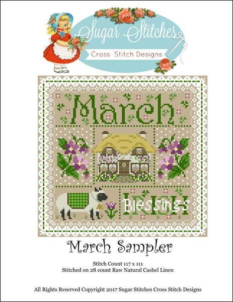 click here to view larger image of March Monthly Sampler (chart)