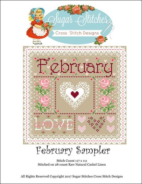 click here to view larger image of February Monthly Sampler (chart)