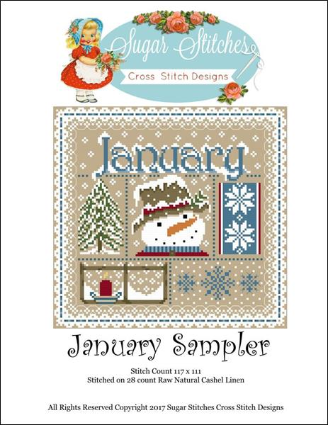 click here to view larger image of January Monthly Sampler (chart)