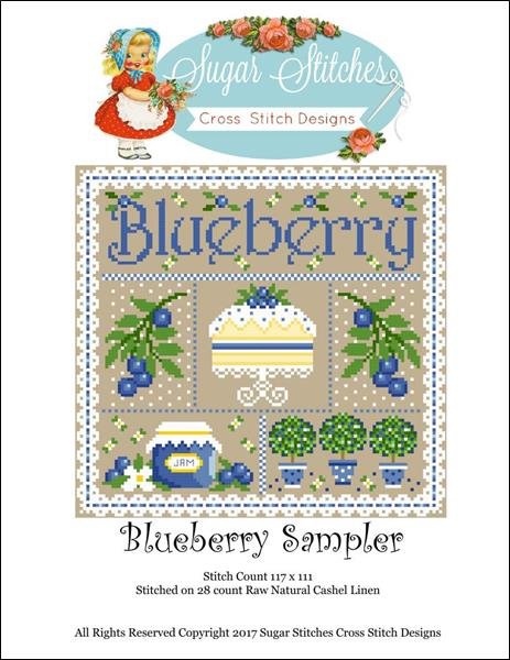 click here to view larger image of Blueberry Sampler (chart)