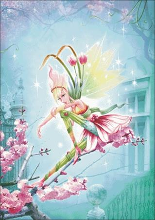click here to view larger image of Tulip Fairy 2 (chart)
