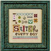 click here to view larger image of Little Stitch, A (counted cross stitch kit)