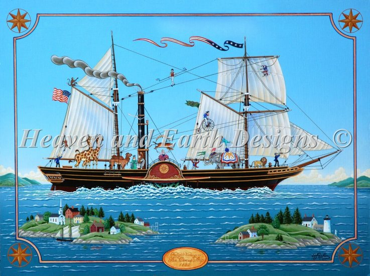 click here to view larger image of Circus Ship, The (chart)
