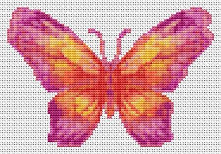 click here to view larger image of Butterfly Series - The Sunset (chart)