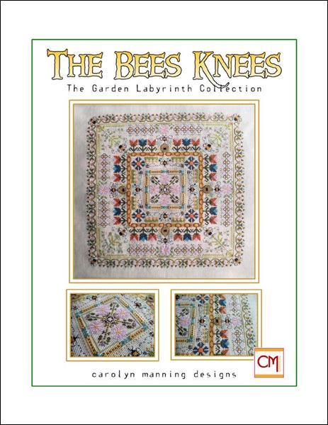 click here to view larger image of Bees Knees, The - Garden Labyrinth Collection (chart)