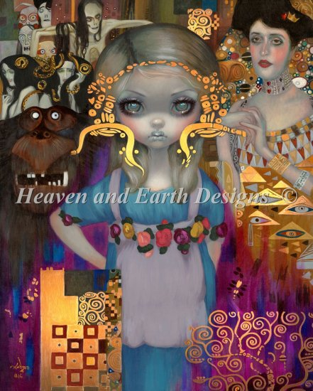 click here to view larger image of Alice In A Klimt Dream (chart)