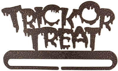 click here to view larger image of Trick Or Treat Split Bottom Bellpull - Copper Vein - 8in (accessory)