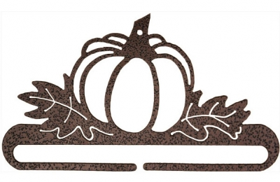 click here to view larger image of Pumpkin Patch Split Bottom Bellpull - Copper Vein - 6in (accessory)