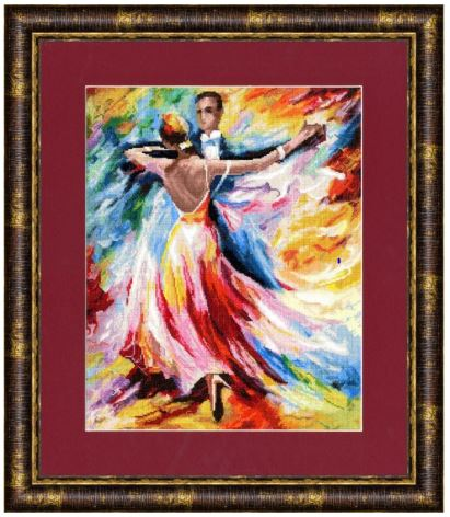 click here to view larger image of Dance of Love (counted cross stitch kit)