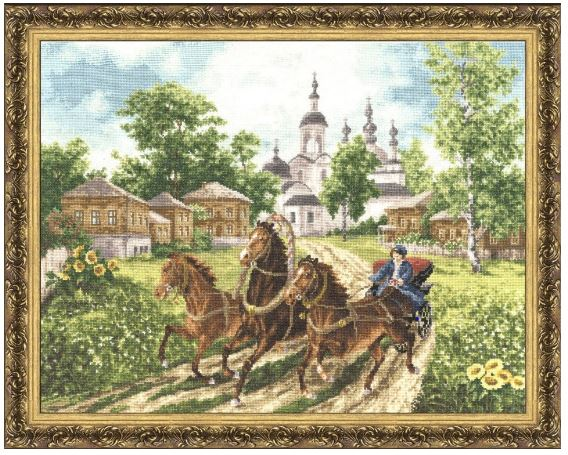 click here to view larger image of Hello Guys (counted cross stitch kit)