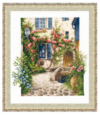 click here to view larger image of Cozy Patio (counted cross stitch kit)
