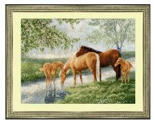 click here to view larger image of Foggy Morning (counted cross stitch kit)