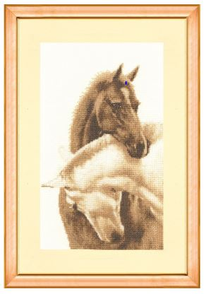 click here to view larger image of Dear Friend (counted cross stitch kit)