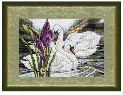 click here to view larger image of Ideal Couple (counted cross stitch kit)
