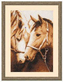 click here to view larger image of Devotion (counted cross stitch kit)