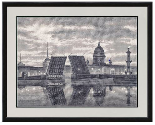 click here to view larger image of Saint Petersburg (counted cross stitch kit)