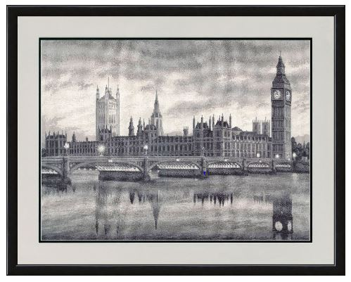 click here to view larger image of London (counted cross stitch kit)