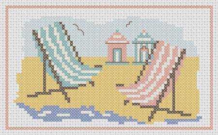 click here to view larger image of Deck Chairs and Beach Huts (chart)