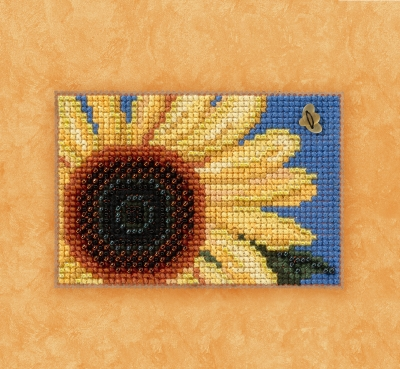 click here to view larger image of Autumn Gold - Autumn Harvest Series (counted cross stitch kit)