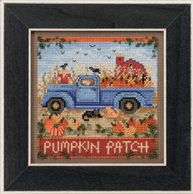 click here to view larger image of Old Time Harvest (counted cross stitch kit)