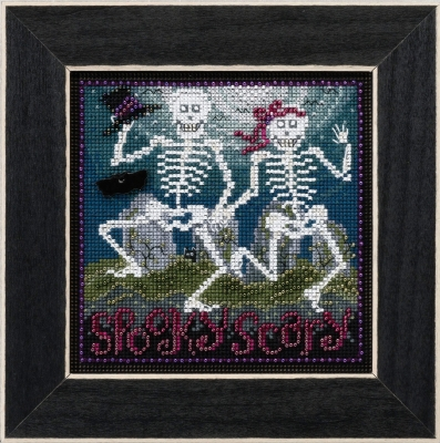 click here to view larger image of Spooky Scary (counted cross stitch kit)
