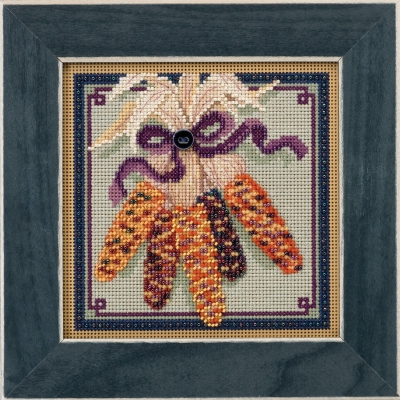 click here to view larger image of Harvest Corn (counted cross stitch kit)