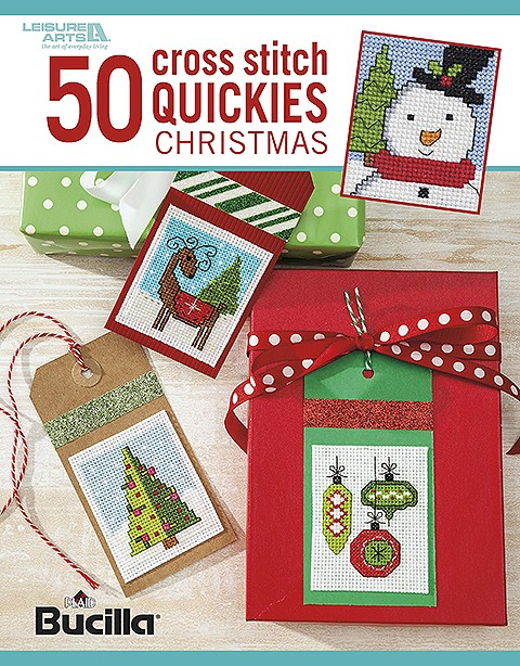 click here to view larger image of 50 Cross Stitch Quickies Christmas (book)