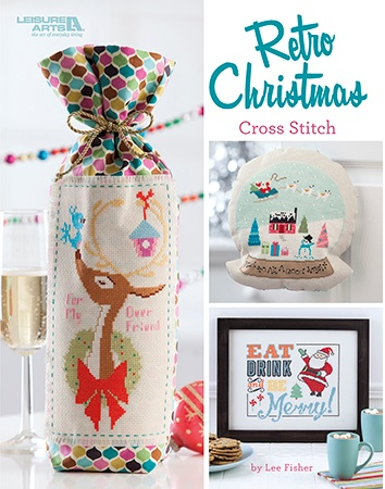 click here to view larger image of Retro Christmas Cross Stitch (book)