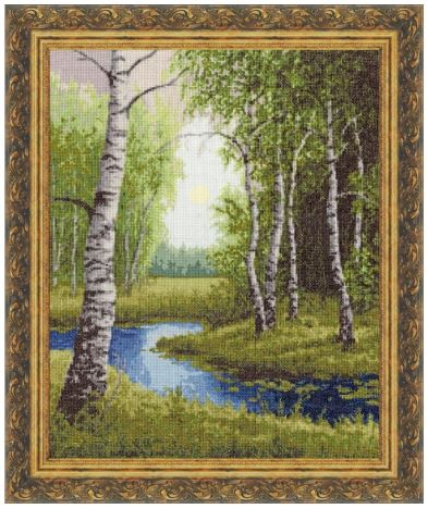 click here to view larger image of Birch Edge (counted cross stitch kit)