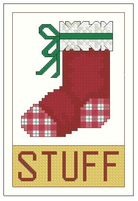 click here to view larger image of Ornament The Stuffable Stocking (chart)