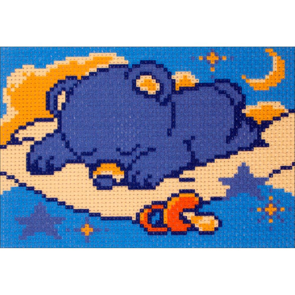click here to view larger image of Little Sleepyhead (stamped cross stitch)