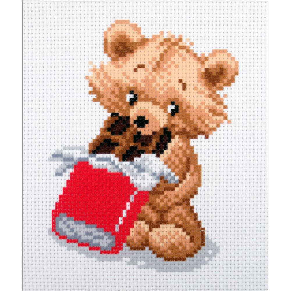 click here to view larger image of Sweet Tooth (stamped cross stitch)