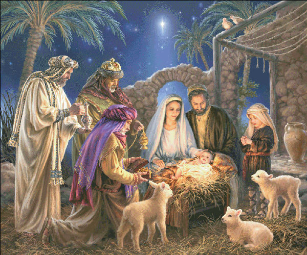 click here to view larger image of Supersized The Nativity Max Color (chart)