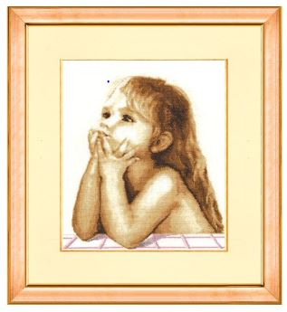 click here to view larger image of Children Dreams (counted cross stitch kit)