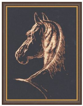 click here to view larger image of Favorite (counted cross stitch kit)