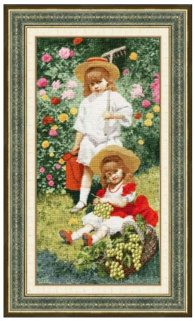 click here to view larger image of Children of the Artist (counted cross stitch kit)