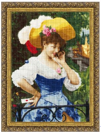 click here to view larger image of Love Letter (counted cross stitch kit)