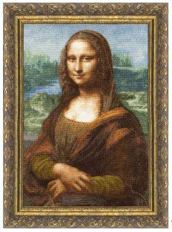 click here to view larger image of Mona Lisa (counted cross stitch kit)