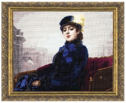 click here to view larger image of Stranger (counted cross stitch kit)