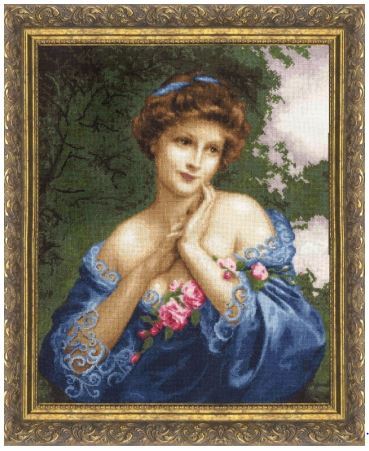 click here to view larger image of Summer Rose (counted cross stitch kit)