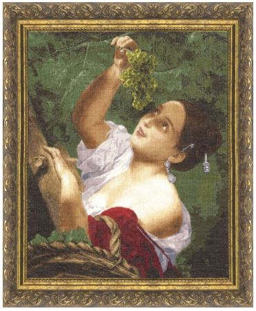 click here to view larger image of Italian Midday (counted cross stitch kit)