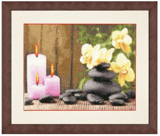click here to view larger image of Fire Energy (counted cross stitch kit)
