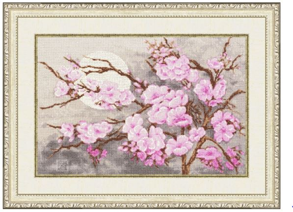 click here to view larger image of Sakura Branch (counted cross stitch kit)