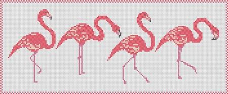 click here to view larger image of Flamingo Parade (chart)
