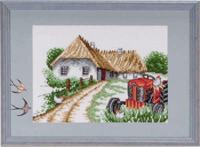 click here to view larger image of Red Ferguson (counted cross stitch kit)
